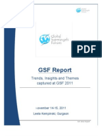 GSF 2011 Report