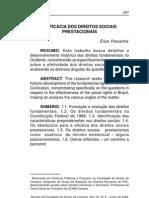 A EFICÁCIA DOS DIREITOS SOCIAIS PRESTACIONAIS - Erica