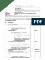 2012-03-05 Agenda MR Vergadering Maandag 5 Maart 2012 + Jaarplanning