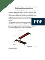 Rancang Bangun Aplikasi PLC