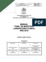 Manual Toma Muestra 2010