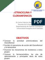 Tetraciclina y Cloranfenicol II