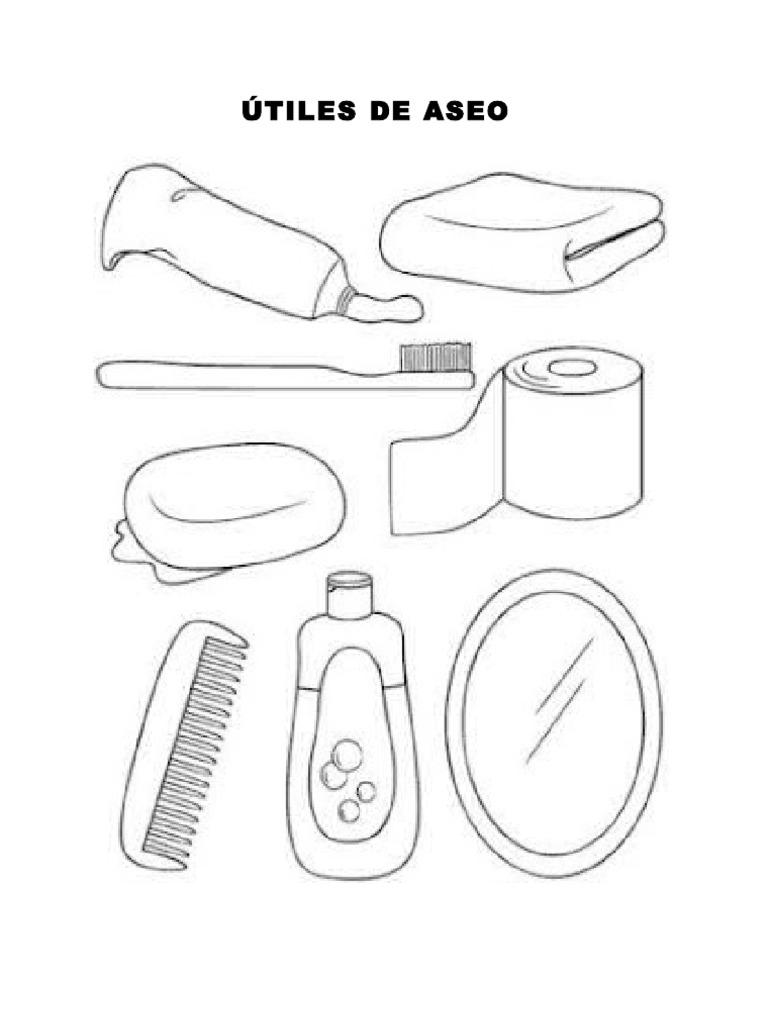 Utiles de aseo for Imagenes de utiles de aseo