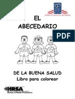 El Abecedario de La Buena Salud- Libro Para Colorear