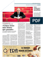Gómez tiene más futuro que pasado (8-may-2011)