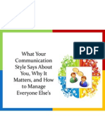 What Your Communication Style Says About You,