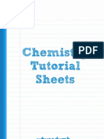 Amity - Chemistry Tutorial Sheets - Why So Dumb