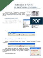 Guide PL7 Pro Connecter Et Transferer