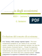 3 - Ecologia Degli Ecosistemi ECO_I