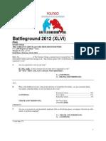 Battleground 2012 Feb 19-22 2012 Poll