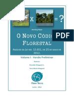 O Novo Código Florestal - Análise Volume I
