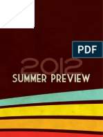 Summer Preview 2012