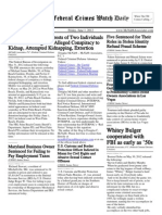 June 1, 2012 - The Federal Crimes Watch Daily