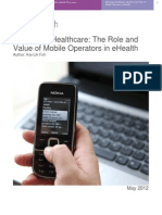 Role and Value of MNOs in eHealth1