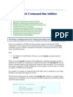 Network Command-Line Utilities