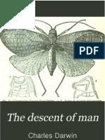 Charles Darwin - The Descent of Man Volume 1