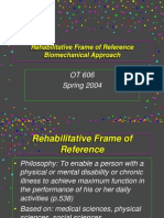 Rehabilitative Frame of Reference-1