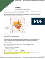 Gastroenteropancreatic Tumours (GEPs) - Cancer Information - Macmillan Cancer