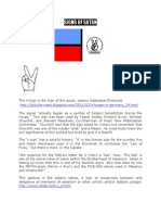 Hidden Satanic Symbols in Chadema's Flag