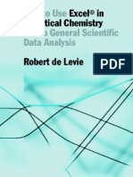 How to Use Excel in Analytical Chemistry and in General Scientific Data Analysis - Robert de Levie