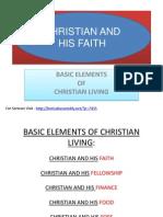 Christian and His Faith