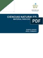 Material Para Docentes 5 Grado Ciencias Naturales