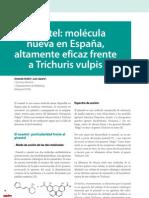 Cv30 Oxantel- Molécula Nueva en España, Altamente Eficaz Frente a Trichuris Vulpis