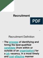 Chapter Recruitment | Human Resource Management