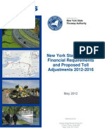 New York State Thruway  Financial Requirements and Proposed Toll Adjustments 2012-2016