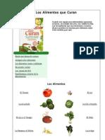 Los Alimentos Que Curan