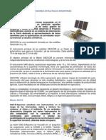 Misiones Satelitales Argentinas