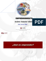 Emprendimiento Andres Velarde