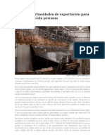 Retos y oportunidades de exportación para el sector avícola peruano