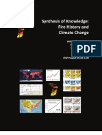 Fire History and Climate Change:A Synthesis of Knowledge