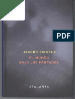 El Espacio Onírico - Jacobo Siruela