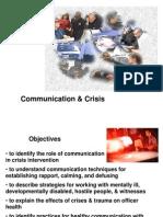 PoliceCommunication&Crisis