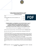 Doc 418 - Amended Order Authorizing Sale Free and Clear of Liens