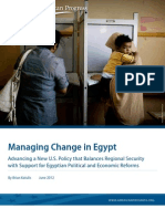 Managing Change in Egypt
