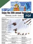 Spirit Fest Schedule
