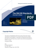 ISA100 Overview Oct 2008