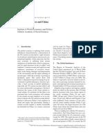 Global Imbalances and China by Yu Yongding