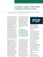 Hygiene Monitoring in Support of Food Safety_A Review of Methods and Industry Trends