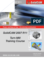 SolidCAM2007 R11 Turn Mill Training Course