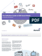 The Definitive Guide to B2B Social Media