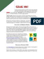Manual GSAK101 español