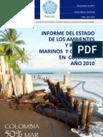 Invemar Informe Del Estado de Los Recursos Marinos de Colombia Ier_2010
