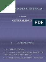 CAPITULO 1 INSTALACIONES ELECTRICAS