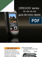 Oregon 450 ES Guia de Inicio Rapido