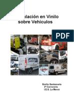 Rotulacion en Vinilo Sobre Vehiculos