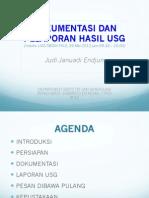 FKUI OBGIN USG OB Induksi, Dokumentasi, Pelaporan Hasil USG, JJE 20120529